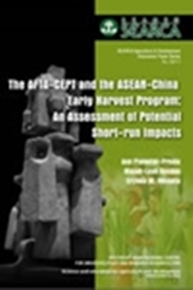 The AFTA-CEPT and the ASEAN China Early Harvest Program: An Assesment of Potential Short-run Impacts