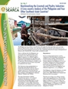Benchmarking the Livestock and Poultry Industries: A Cross-country Analysis of the Philippines and Four Other Southeast Asian Countries