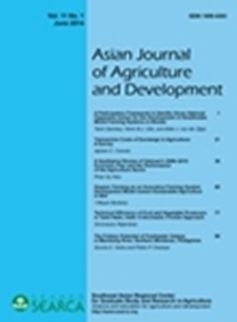 Asian Journal of Agriculture and Development Vol. 11 No. 1