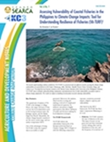 Assessing Vulnerability of Coastal Fisheries in the Philippines to Climate Change Impacts: Tool for Understanding Resilience of Fisheries (VA-TURF)
