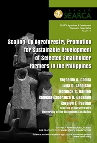 Scaling Up Agroforestry Promotion for Sustainable Development of Selected Smallholder Farmers in the Philippines