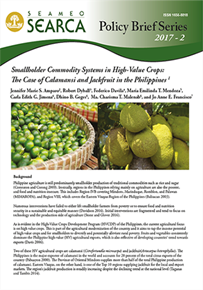 Smallholder Commodity Systems in High-Value Crops: 