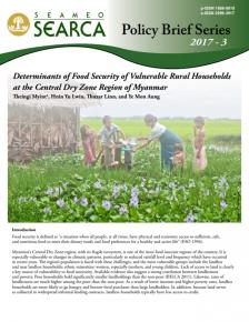 Determinants of Food Security of Vulnerable Rural Households 