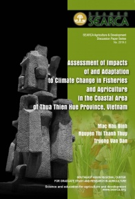 Assessment of Impacts of Climate Change in Fisheries and Agriculture in the Coastal Area of Thua Thien Hue Province, Vietnam