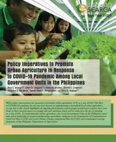 Policy Imperatives to Promote Urban Agriculture in Response to COVID-19 Pandemic Among Local Government 