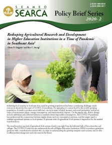 Reshaping Agricultural Research and Development in Higher Education Institutions in a Time of Pandemic in Southeast Asia