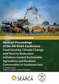 Abstract Proceedings of the 4th RSAA Conference: Food Security, Climate Change, and Poverty Reduction