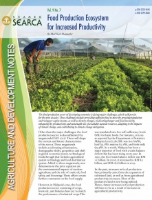 Food Production Ecosystem for Increased Productivity