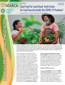 Local Food for Local Good: Youth Action for Food Security Amidst the COVID-19 Pandemic