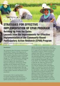 Strategies for Effective Implementation  of the CPAR Program