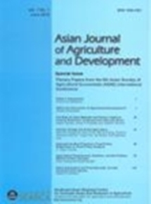 Asian Journal of Agriculture and Development Vol. 7 No. 1