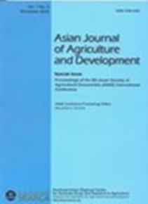 Asian Journal of Agriculture and Development Vol. 7 No. 3