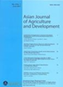 Asian Journal of Agriculture and Development Vol. 8 No. 1