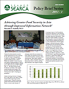 Achieving Greater Food Security in Asia through Improved Information Network