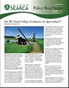 Do We Need College Graduates in Agriculture?