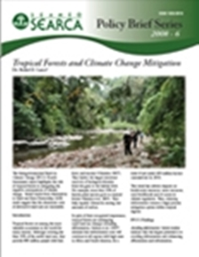 Tropical Forests and Climate Change Mitigation