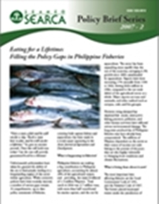 Eating for a Lifetime: Filling the Policy Gaps in Philippine Fisheries