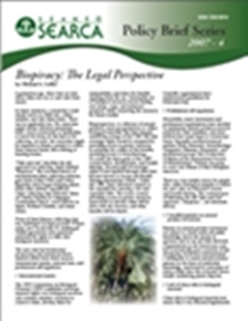 Biopiracy: The Legal Perspective