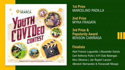 SEARCA announces youth COVIDeo contest winners