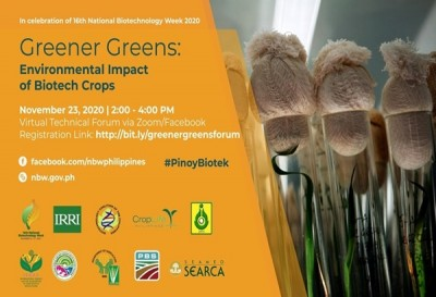 A Greener Solution: Experts Discuss Environmental Impact of Biotech Crops