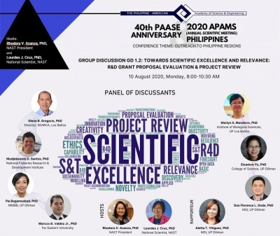 SEARCA leader tackles reshaping agri R&D in HEIs during COVID-19 pandemic in PAASE forum on scientific excellence and relevance