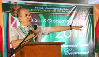SEARCA Director to UPLB ICropS graduates: Think globally, act locally!