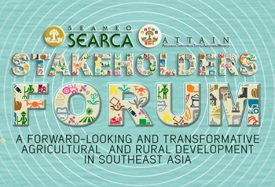 Agri and rural development leaders set to gather at SEARCA Stakeholders Forum
