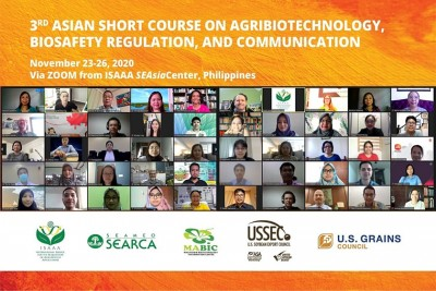 SEARCA's University Consortium and travel grantees partake in agri-biotechnology short course