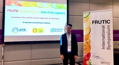 SEARCA Scholar presents research during the 12th FRUTIC Conference in Hong Kong, China