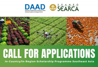 Call for Applications to the AY 2021-2022 DAAD In-Country/In-Region Scholarship Programme