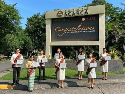 SEARCA sends off graduating scholars from UPLB with a Testimonial Program