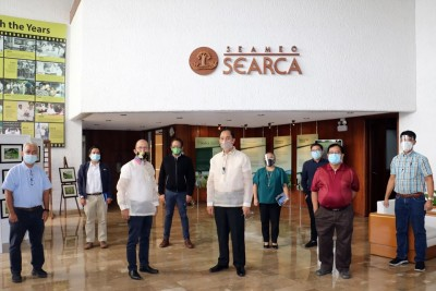 PH Agriculture Secretary visits SEARCA
