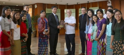 New Myanmar Ambassador to PH visits SEARCA