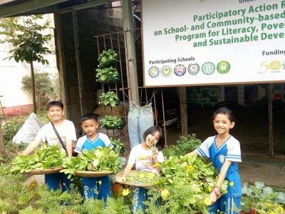 School-plus-Home Gardens Project to initiate scaling out activity