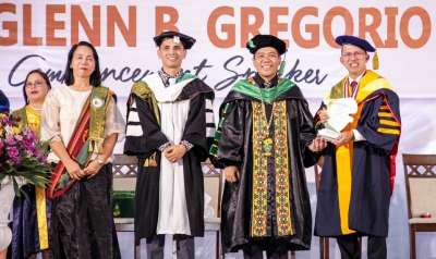 Be at the forefront of development, SEARCA Director urged Caraga State University graduates