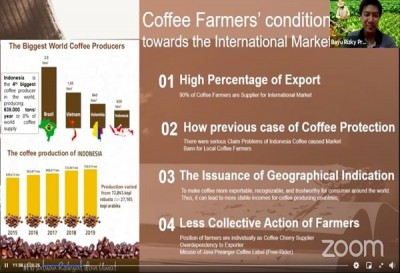 Double degree SEARCA alumnus shares research on  single origin coffee processing scheme in Indonesia