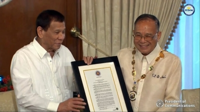 President Confers Order of National Scientist to Biotech Champ