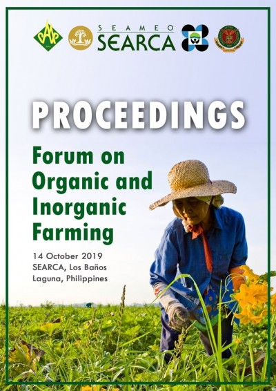 Proceedings of Forum on Organic and Inorganic Farming now Available Online