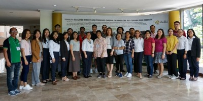 SEARCA Scholars attend training on Writing Thesis and Dissertation Proposals