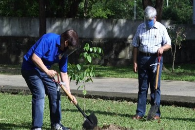 SEAMEO's 55th Anniversary marked with tree-planting